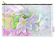 Very Tiny Wildflower Boquet Digital Paint Carry-all Pouch