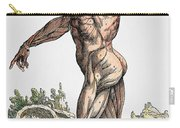 Vesalius: Muscles 02, 1543 Carry-all Pouch