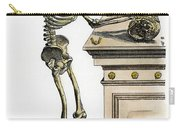 Vesalius: Skeleton, 1543 Carry-all Pouch