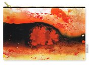 Vibrant Abstract Art - Leap Of Faith By Sharon Cummings Carry-all Pouch