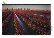 Vibrant Dusk Tulips Carry-all Pouch