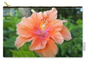 Vibrant Hibiscus Carry-all Pouch