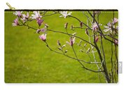 Vibrant Pink Magnolia Blossoms Carry-all Pouch