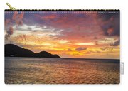 Vibrant Tropical Sunset Carry-all Pouch