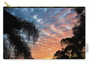 Vibrant Winter Sunset Carry-all Pouch