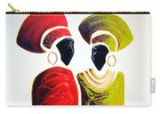Vibrant Zulu Ladies - Original Artwork Carry-all Pouch