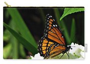Viceroy On Hydrangea Carry-all Pouch