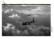 Vickers Wellingtons No 75 Squadron Black And White Version Carry-all Pouch
