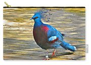 Victoria Crowned Pigeon In San Diego Zoo Safari In Escondido-california Carry-all Pouch