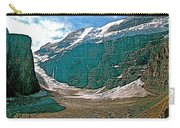 Victoria Glacier From Plain Of Six Glaciers In Banff Np-alberta Carry-all Pouch