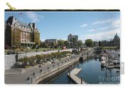 Victoria Harbour With Empress Hotel Carry-all Pouch
