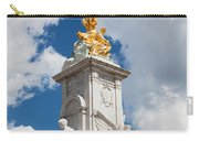 Victoria Memorial Next To Buckingham Palace London Uk Carry-all Pouch