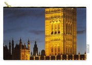 Victoria Tower - London Carry-all Pouch