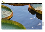 Victoria Waterlilies Carry-all Pouch
