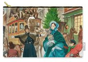 Victorian Christmas Scene Carry-all Pouch