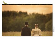 Victorian Couple In A Summer Meadow Carry-all Pouch