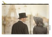 Victorian Couple In Paris Carry-all Pouch