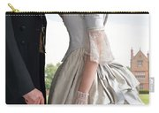 Victorian Couple In The Grounds Of A Country House Carry-all Pouch
