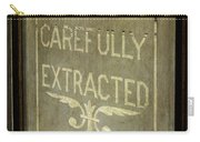 Victorian Dentist Sign Carry-all Pouch