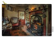 Victorian Fire Place Carry-all Pouch by Adrian Evans