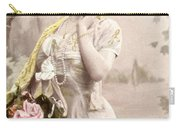 Victorian Floral Market Carry-all Pouch