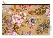 Victorian Floral Pattern Phone Case Carry-all Pouch