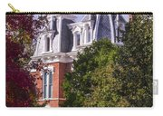 Victorian Home In Autumn Photograph As Gift For The Holidays Print Carry-all Pouch