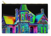 Victorian House Pop Art Carry-all Pouch