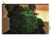Victorian Lady Expecting A Baby Carry-all Pouch by Jill Battaglia