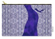 Victorian Lady In Blue Carry-all Pouch