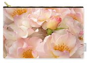 Victorian Pink Roses Bouquet Carry-all Pouch