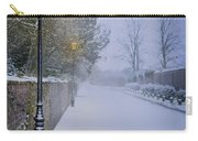 Victorian Winter Street Scene Carry-all Pouch