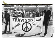 Vietnam War Protesters Carry-all Pouch
