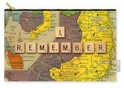 Vietnam War Map Carry-all Pouch