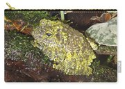 Vietnamese Mossy Frog Carry-all Pouch