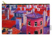 Vieux Lyon Rooftops  Carry-all Pouch