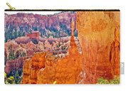 View At Beginning Of Navajo Trail In Bryce Canyon National Park-utah Carry-all Pouch