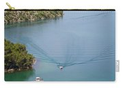 View Down From Sibenik Or Krka Bridge Carry-all Pouch