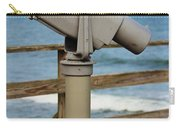 View Finder At The Beach Carry-all Pouch
