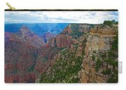 View Five From Walhalla Overlook On North Rim Of Grand Canyon-arizona Carry-all Pouch
