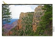 View Four From Walhalla Overlook On North Rim Of Grand Canyon-arizona Carry-all Pouch