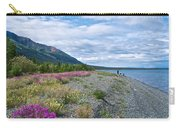 View Four Kluane Lake From Cottonwood Campground Near Destruction Bay-yk Carry-all Pouch