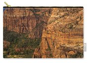 View From Angel's Landing 2 Carry-all Pouch