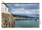 View From Back Beach - Lyme Regis Carry-all Pouch