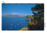 View From Capri Carry-all Pouch