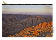 View From Mount Sinai Carry-all Pouch