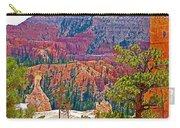 View From Queen's Garden Trail In Bryce Canyon National Park-utah Carry-all Pouch