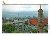 View From Temple Of The Dawn-wat Arun In Bangkok-thailand Carry-all Pouch