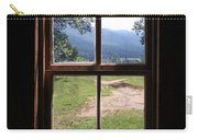 View From The Cabin Carry-all Pouch by Todd Blanchard