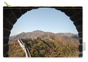 View From The Great Wall 696 Carry-all Pouch